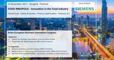 5. Asian-European Business Innovation Congress, Bangkok, 14.11.2017